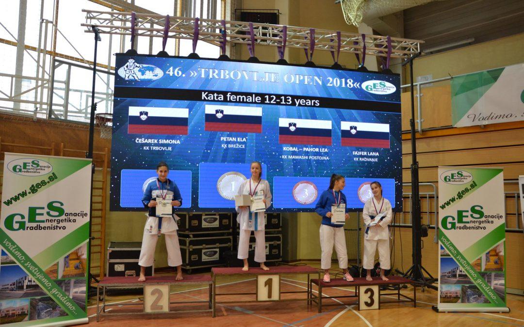 Mednarodni karate turnir v Trbovljah