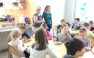 Zajtrk v 1.razredu